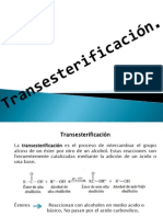 transesterificación expo