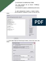 Manual Para Reset Da Impress or A Cx5600