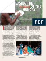 RT Vol. 8, No. 2 Easing the plight of the hungry
