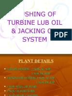 Flushing of Turbine