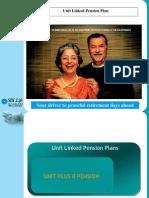 Unit Linked Pension Plans Final