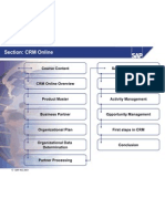 Overview CRM Online