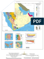 Saudi Tectonic Map