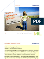 How to Start a Millionaire Journey