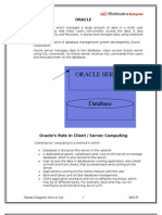 Study Material for Oracle