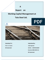 Small Project Report on Working Capital Management at Tata Steel Ltd