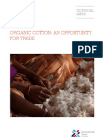 Organic Cotton an Opportunity for Trade