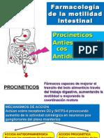 Farmacología de la motilidad intestinal