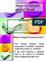 Simple Present Tense Presentation Edited