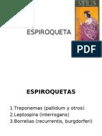 espiroquetas