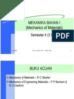 59953319 Mekanika Bahan I Materi 1