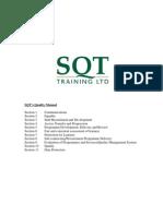 SQT Quality Manual