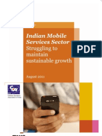 The Indian Mobile Services Sector Struggling to Maintain Sustainable Growth
