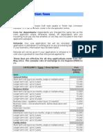 UK Visa Fee May2012