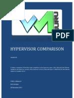 Hyper Visor Comparison