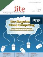 Cloud Computing stellt den IT-Sektor auf den Kopf
