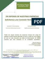 EN DEFENSA DE NUESTRAS EMPRESAS (Es) IN DEFENCE OF OUR ENTERPRISES (Es) GURE ENPRESEN ALDE (Eus)