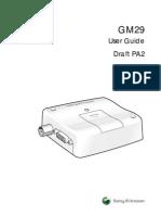 GM29 User Guide