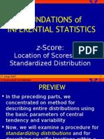 Z-score and Correlationr