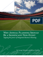 White Papers Annual Planning