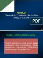 PAPARAN - DPA-SKPD