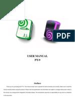 Pt-9 User Manual