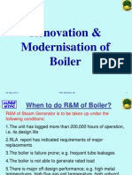 Training R&M of Boilers