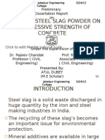Effect of Steel Slag Powder on Mechanical Properties