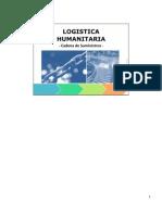 Cadena de suministros humanitaria/ humanitarian supply chain