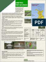 IMPACT OF VOLUMETRICPRICING ON WATER SAVINGS