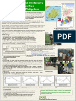 Role of Policies and Institutionsfor Water-saving on RiceFarming in Bohol Philippines