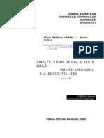 Sinteze, Studii de Caz Si Teste IAS, IfRS, Vol III, 2008