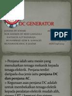 Mesin Dc Generator