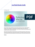 Psikologi Warna Pada Desain Grafis