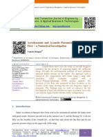 Aerodynamic and Acoustic Parameters of a Coandã Flow – a Numerical Investigation