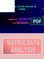 Matrix Data Analysis