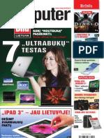 "6/2012 ""Computer Bild Lietuva"" – Naujausi ""ultrabukai"""