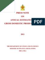 Srilanka GDP 2011