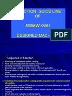 L-06 Erection Guide Line of 500 Mw Turbine Anp-4