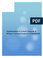 Virtual Classroom and Bangladesh Prespective
