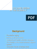 Healthcare Management of Elderly People