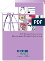 20 Task Orthodontic Instruments