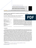 A Particle Swarm Algorithm for Inspection Optimization in Serial