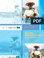 Guide Des Ressources Naturelles Et Culturelles Du Jbel Kelti & Regions Voisines