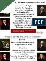 Religious Liberty Lesson 4