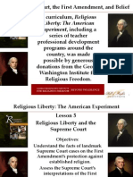 Religious Liberty Lesson 5