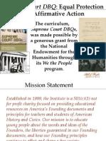 SCDBQ Plessy v. Ferguson