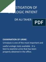 Investigation of Urologic Patient 12222