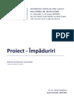 Proiect Impaduriri 2011
