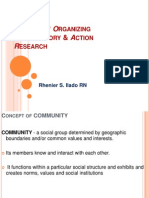 Community Organizing Participatory & Action